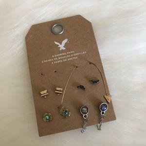 American Eagle Earrings Set